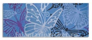 Poza 1 Placa decor Mariposa Azul